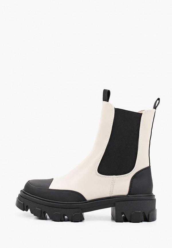 женские ботинки-челси vitacci, бежевые