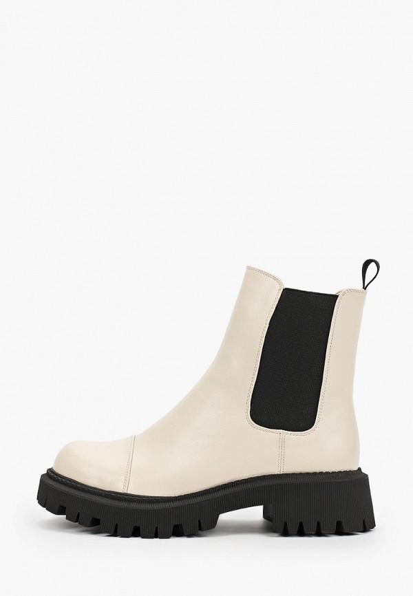 женские ботинки-челси vitacci, серые