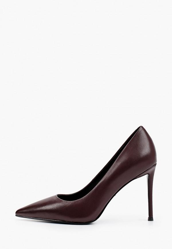 женские туфли-лодочки vitacci, бордовые