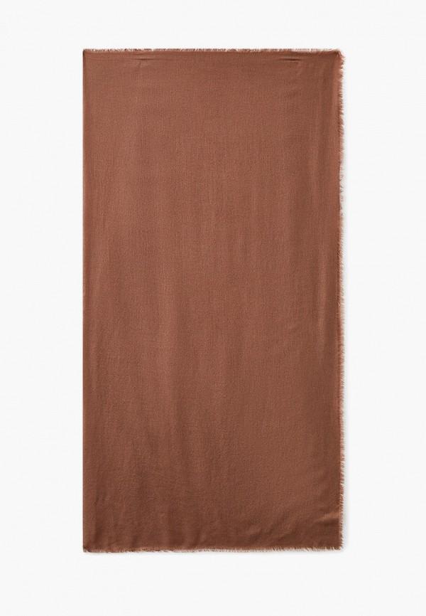 женский платок malhossa, коричневый
