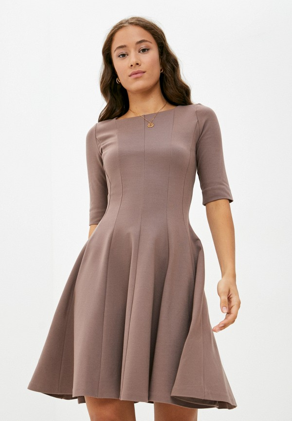 Платье Ruxara бежевого цвета