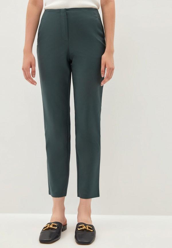 женские зауженные брюки zarina, зеленые