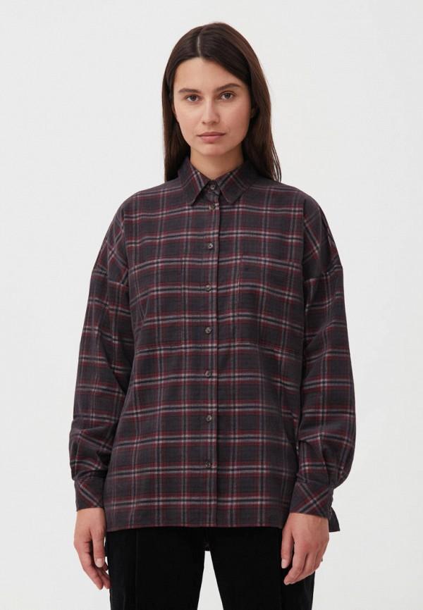 Рубашка Finn Flare фиолетового цвета