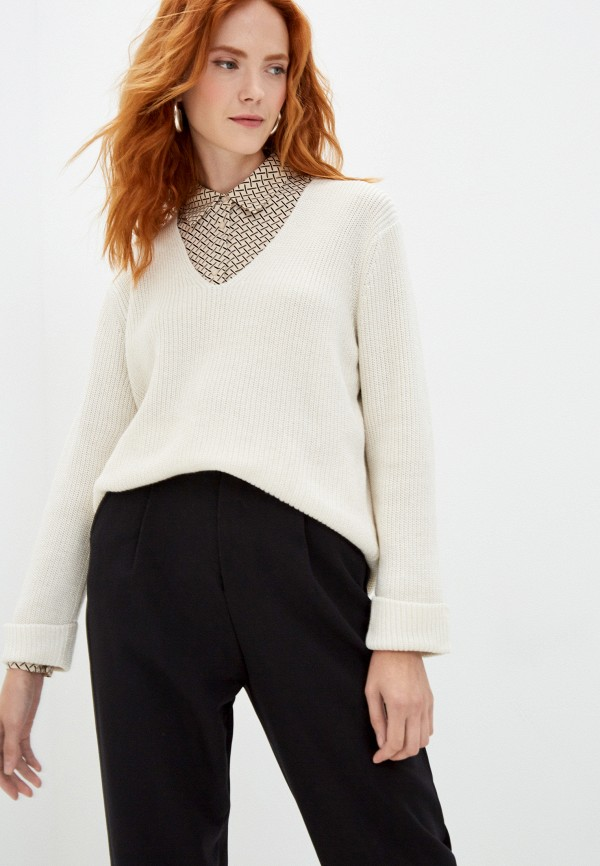 Пуловер O'stin бежевого цвета