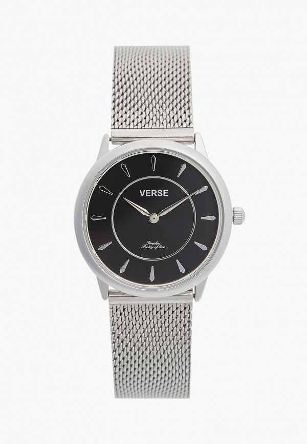 женские часы verse, серебряные