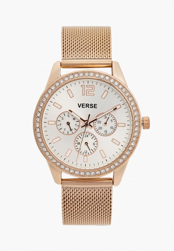 женские часы verse, розовые