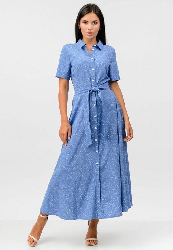 женское платье raslov, синее