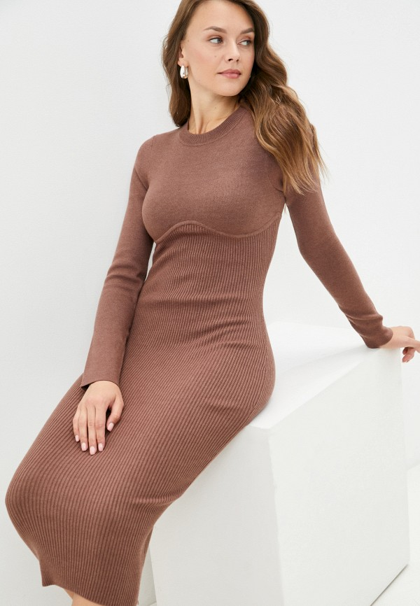 Платье Love Republic коричневого цвета
