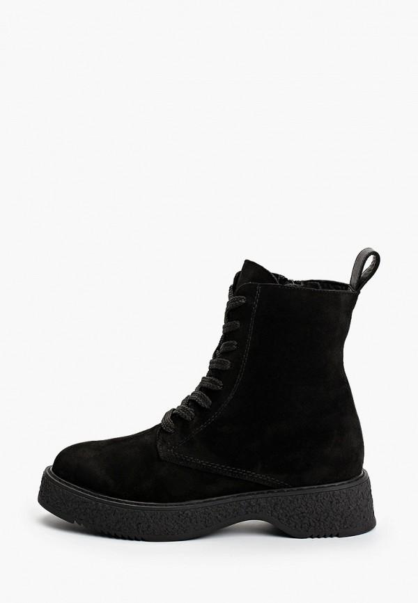 Ботинки Euros Style черного цвета