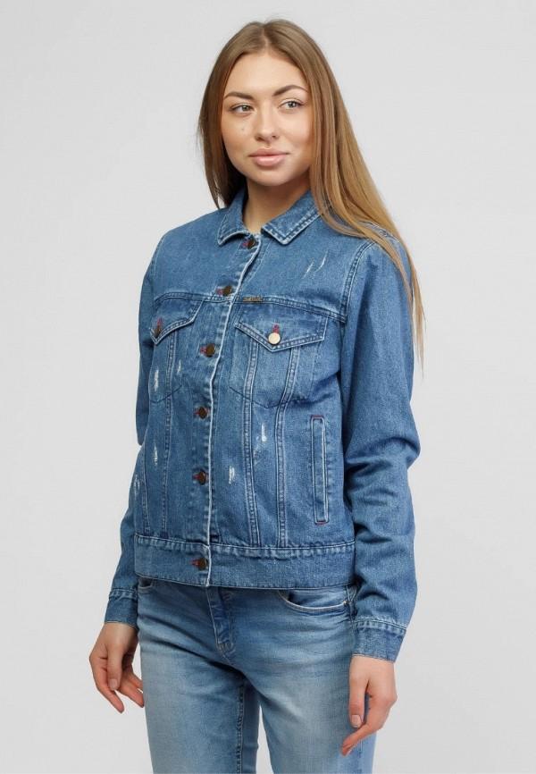женская джинсовые куртка dasti, синяя