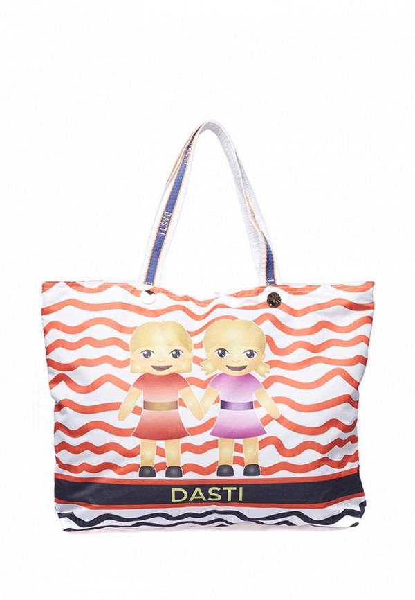 женская сумка dasti, белая