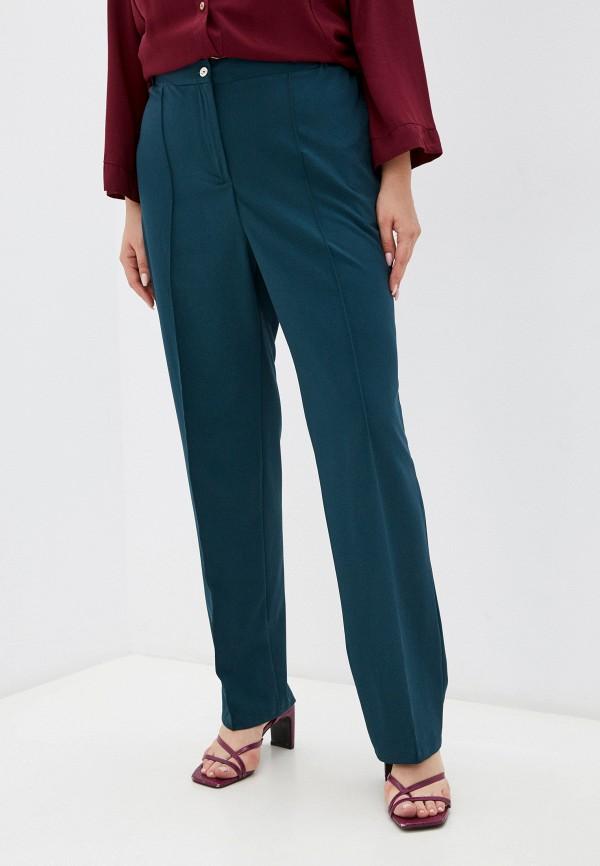 женские классические брюки prewoman, золотые
