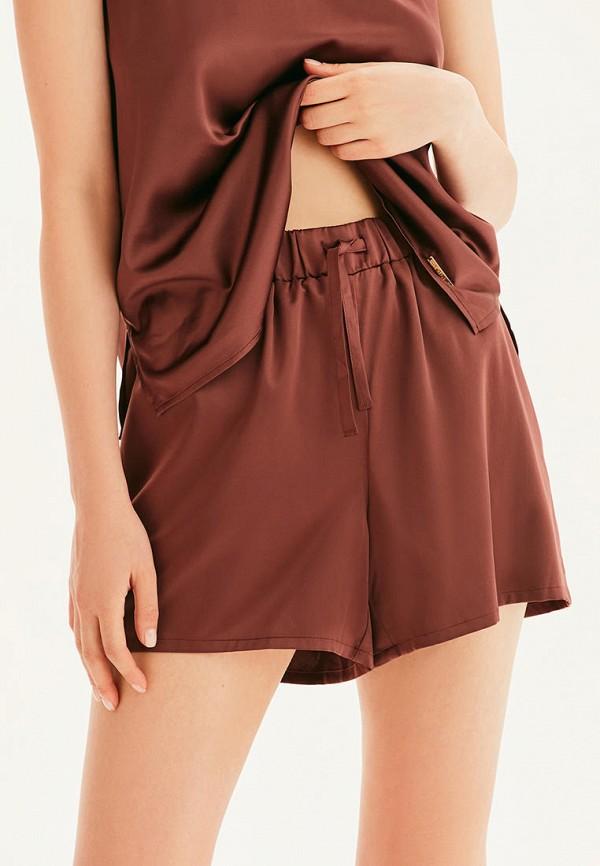 женские шорты love republic, коричневые
