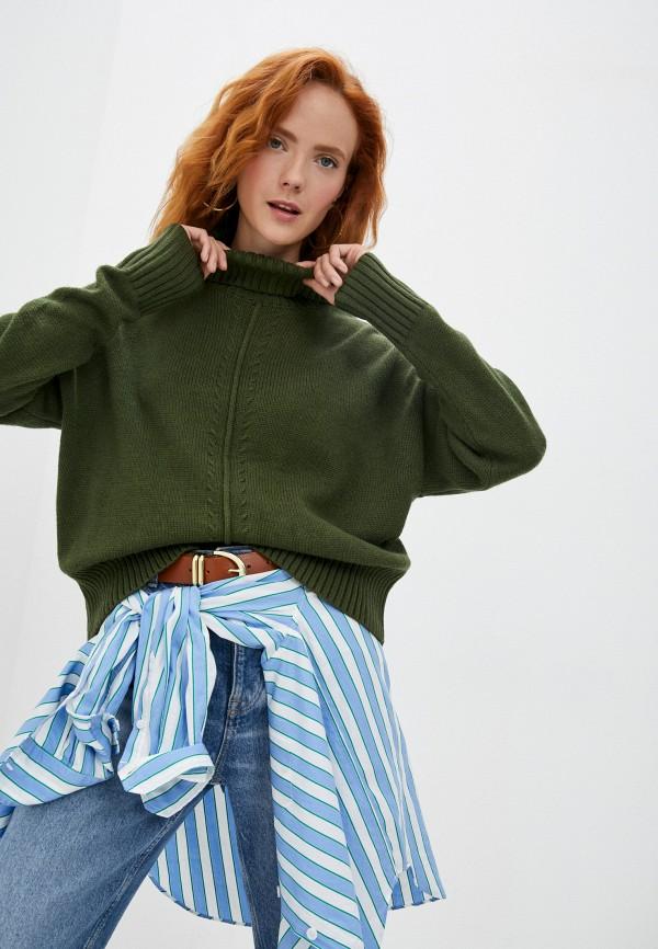 женский свитер baon, хаки