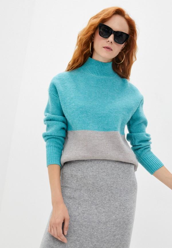 женский свитер baon, голубой