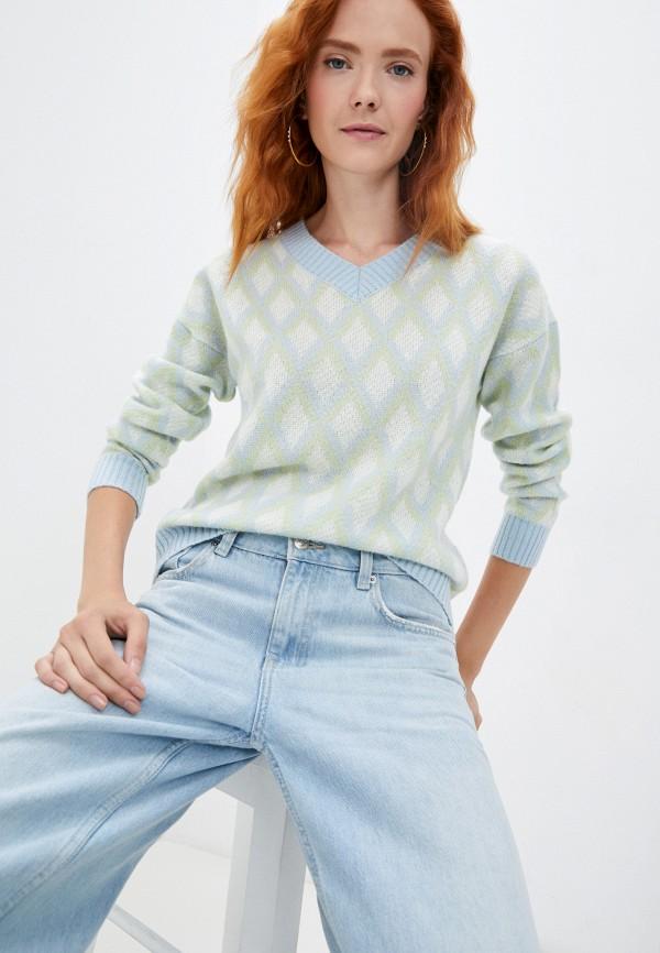 женский пуловер baon, разноцветный