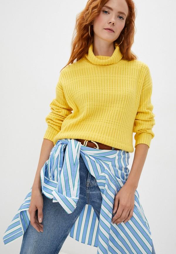 женский свитер baon, желтый