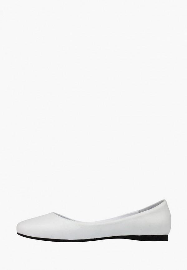 женские балетки viscala, белые