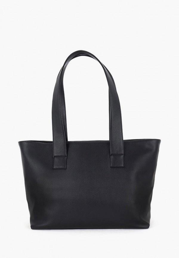 женская сумка-шоперы solo, черная