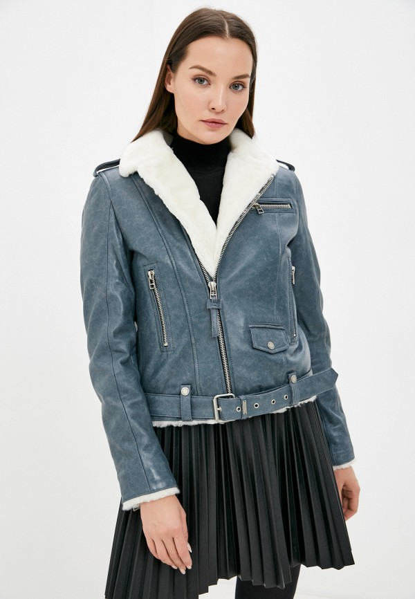 Куртка кожаная Angelo Bonetti MP002XW08DODR4648 фото