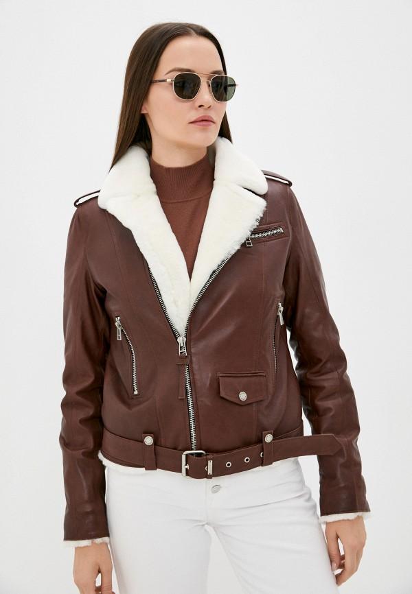 Куртка кожаная Angelo Bonetti MP002XW08DOFR4850 фото