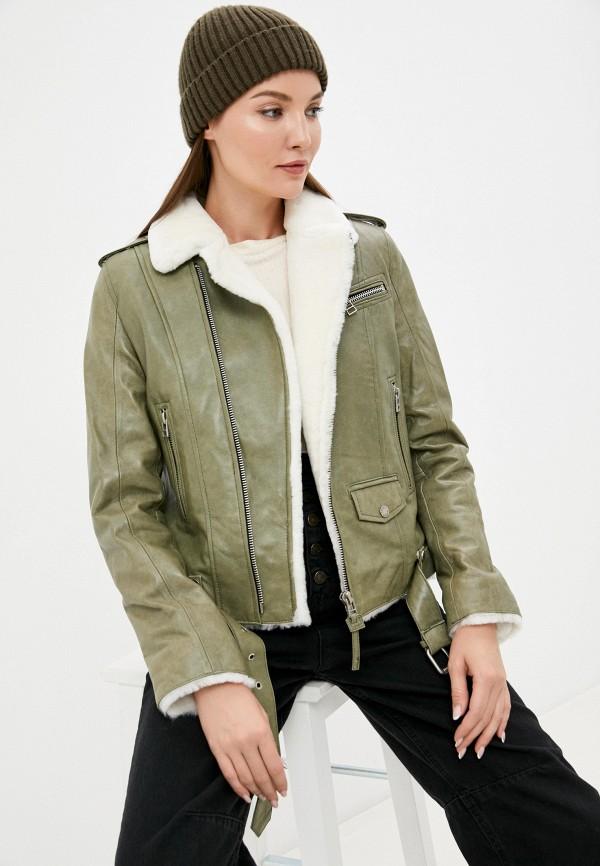 Куртка кожаная Angelo Bonetti MP002XW08DOHR4850 фото