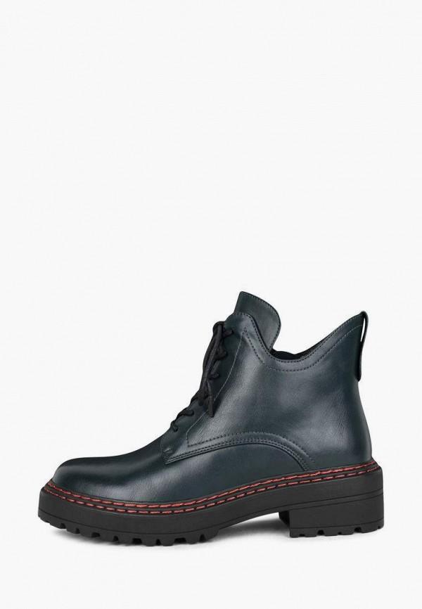 женские высокие ботинки t.taccardi, зеленые