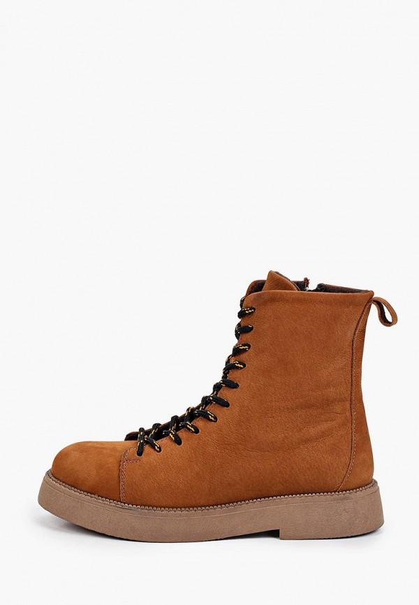Ботинки Shoiberg коричневого цвета