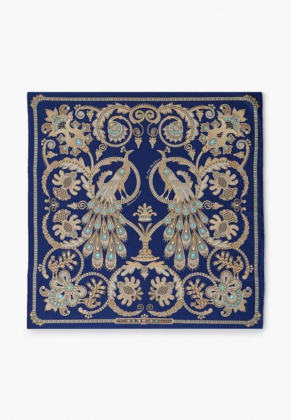женский платок русские в моде, синий