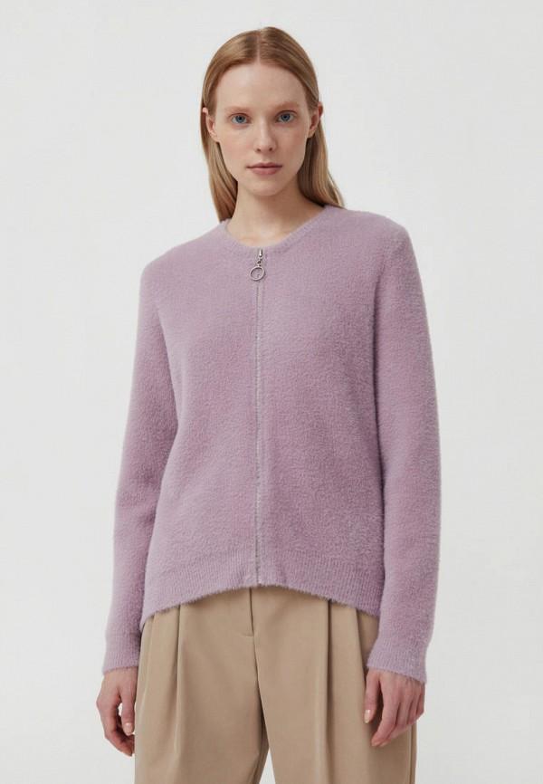 Кардиган Finn Flare фиолетового цвета