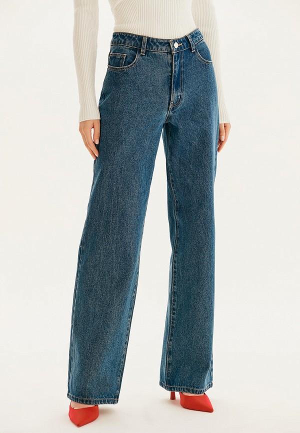 женские джинсы клеш love republic, синие
