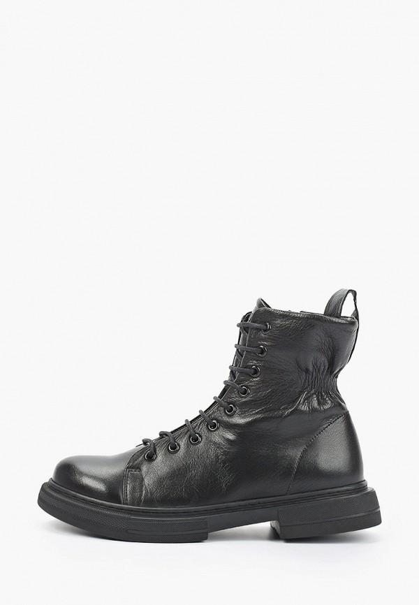 женские высокие ботинки airbox, черные