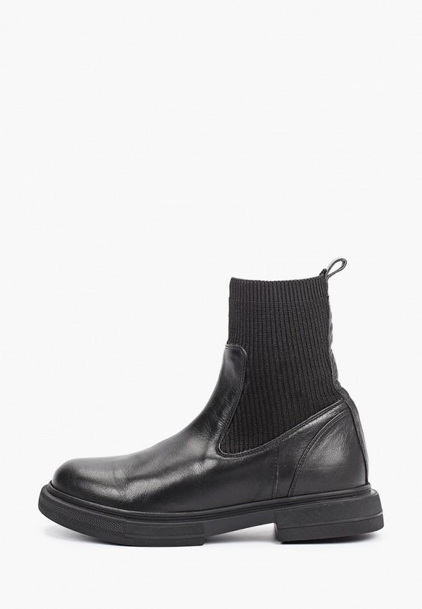 женские ботинки-челси airbox, черные