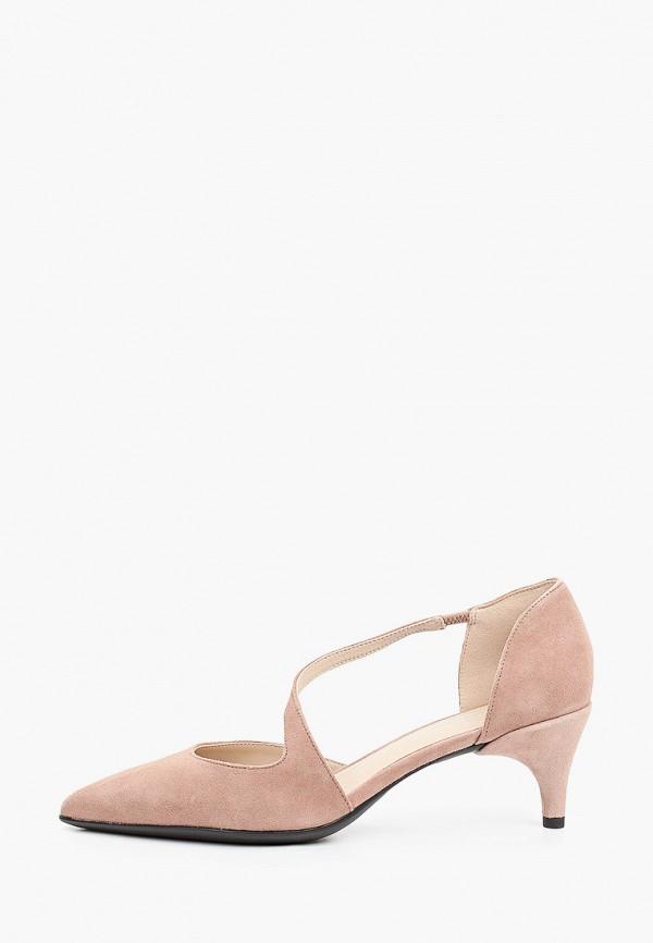 женские туфли ecco, коричневые