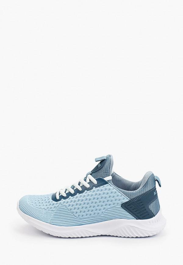 женские низкие кроссовки zenden active, голубые