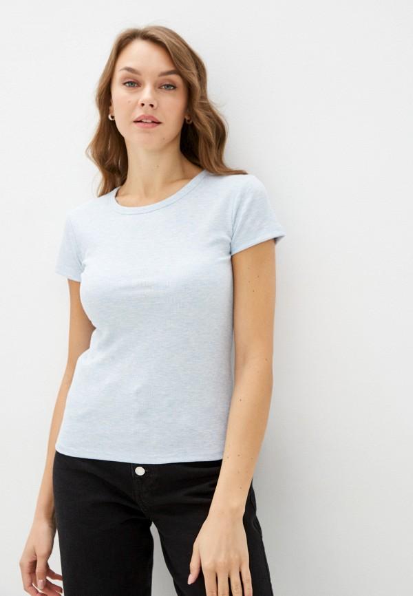 женская футболка mavi, голубая