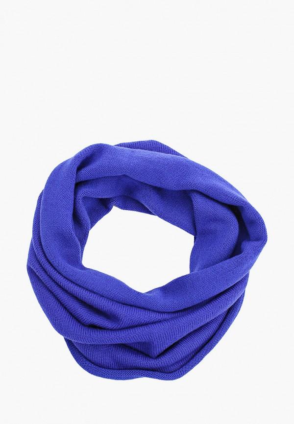 женский снуд norveg, синий
