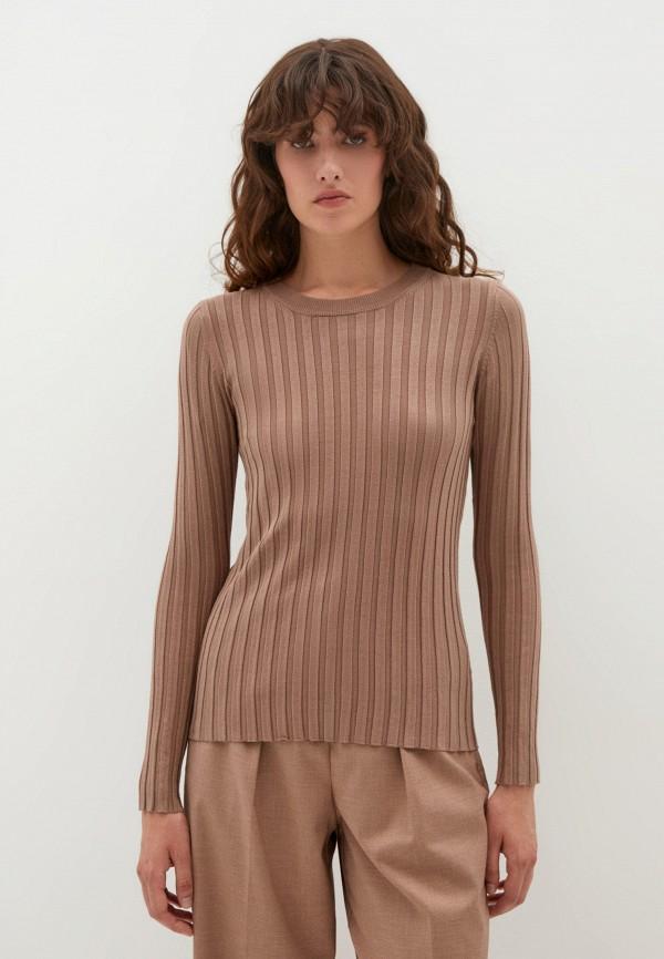 Джемпер Zarina коричневого цвета