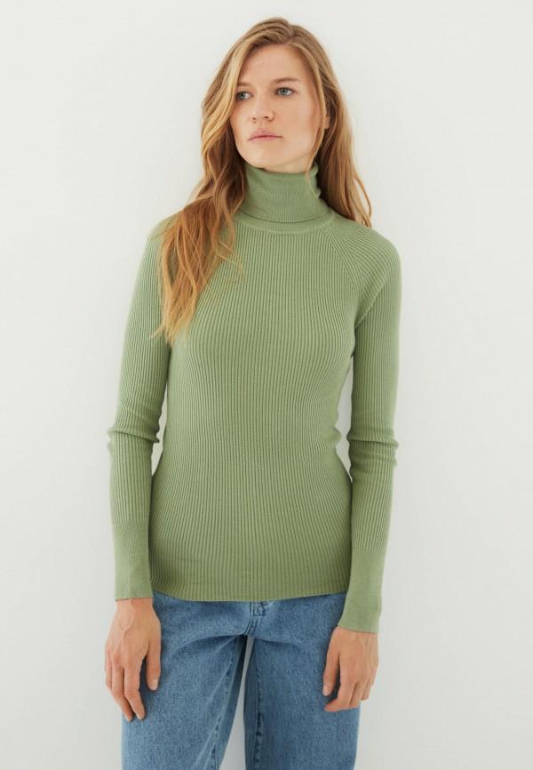 Водолазка Zarina зеленого цвета