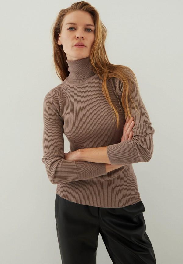 Водолазка Zarina коричневого цвета