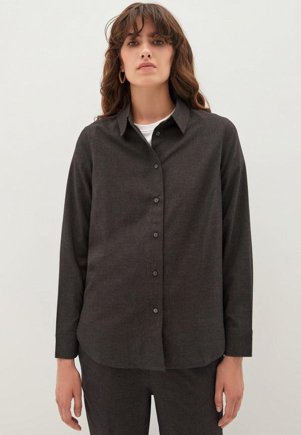Блуза Zarina серого цвета