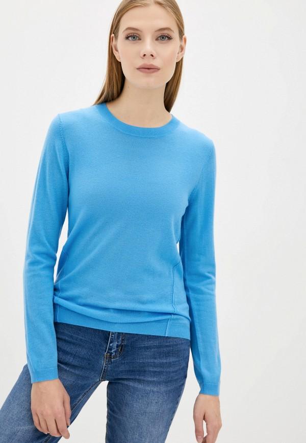 женский джемпер norveg, голубой