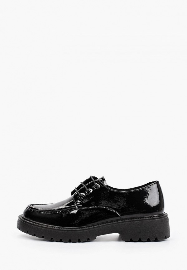 женские ботинки-оксфорды thomas munz, черные