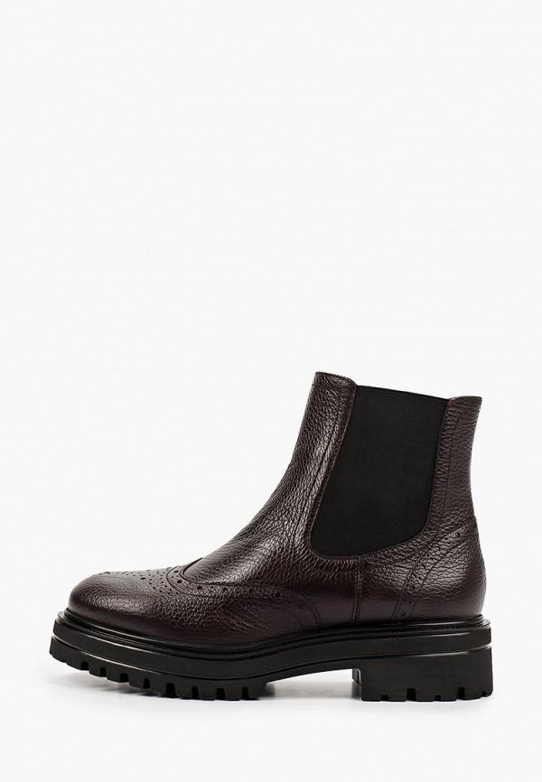 женские ботинки-челси giotto, бордовые