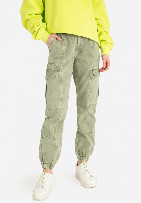 Брюки Gloria Jeans цвета хаки