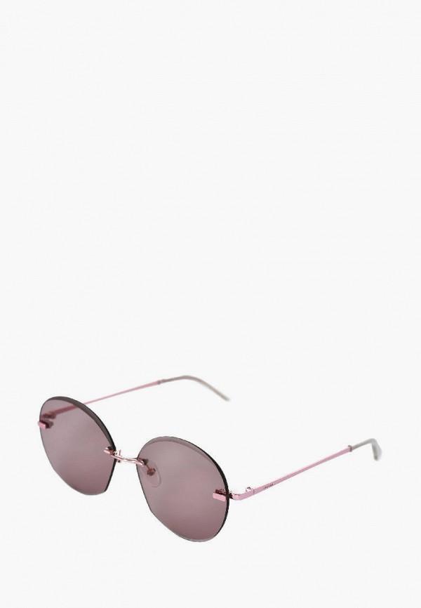 женские солнцезащитные очки luckylook, розовые
