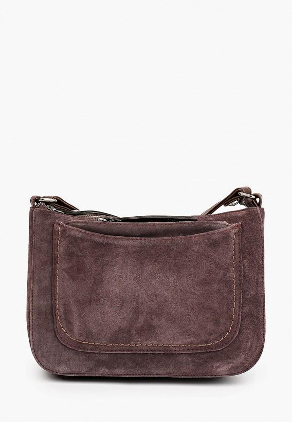 женская сумка через плечо rosedena, фиолетовая