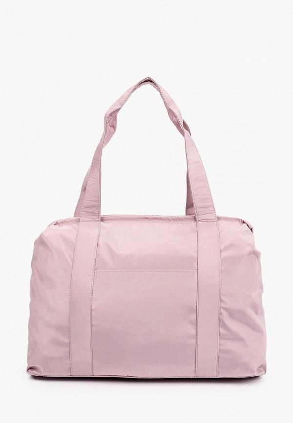 женская сумка с ручками rosedena, розовая