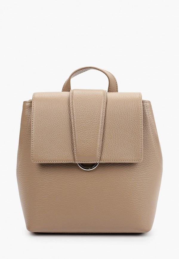 женский рюкзак afina, бежевый