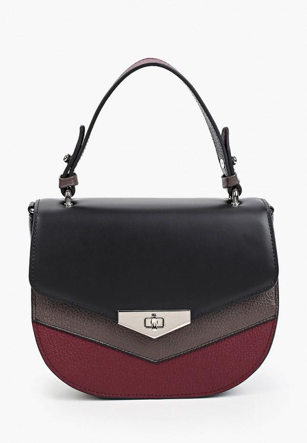 женская сумка-кроссбоди afina, черная